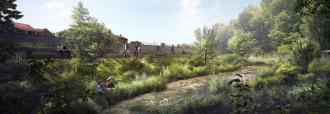 Projet d'aménagement de l'Yzeron - ©SAGYRC